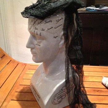 Victorian mourning cap - Hats