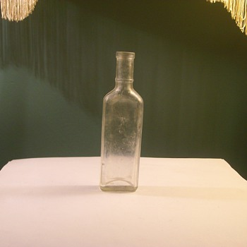 Very Early 1900's Elixir Glass Bottle