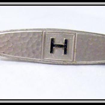 Vintage HICKOK Tie Clip ( Pin )