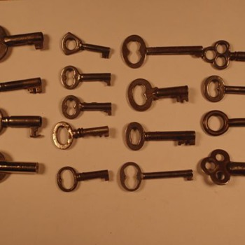 Skeleton Keys 2 of 2 Anything special or significant about them? - Tools and Hardware