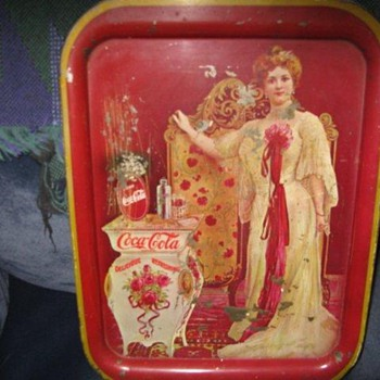 Authentic 1903 Coca-cola tray???? - Coca-Cola