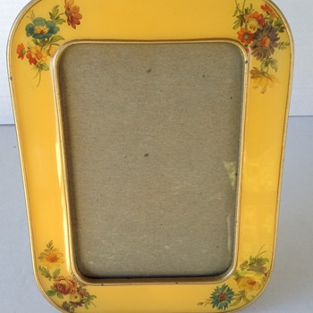 Brass and Enamel Picture Frame - Furniture
