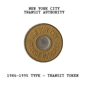 1986 - New York City Transit Token - US Coins