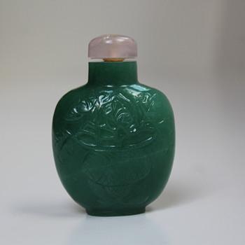 Emerald Green Snuff Bottle