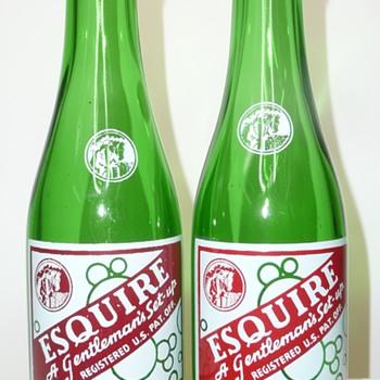 Esquire Soda Bottle - Bottles