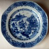 Really old porcelain plate
