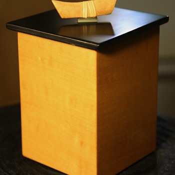 Covered Wooden Box by Randy Cook - Furniture