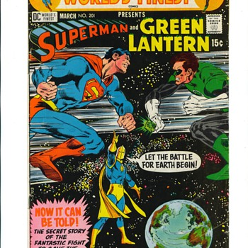 Superman vs. Green lantern