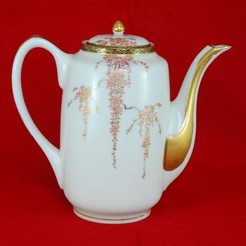 Asian Porcelain Tea Pot  - Asian