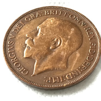 Old penny  - World Coins