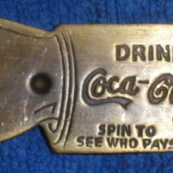 2 Coca Cola Spinner Bottle Opener - Coca-Cola