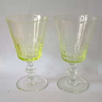 Crystal Absinthe Glasses? - Glassware