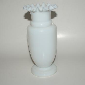 Antique Bristol (?) Glass Vase - Glassware