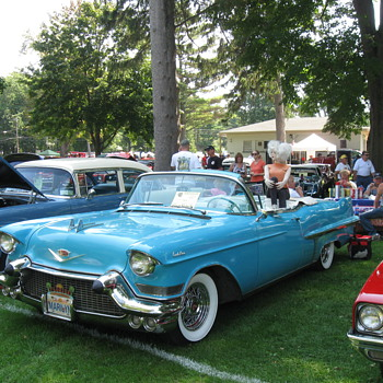 25th annual Olcott Beach NY Car Show - Photographs
