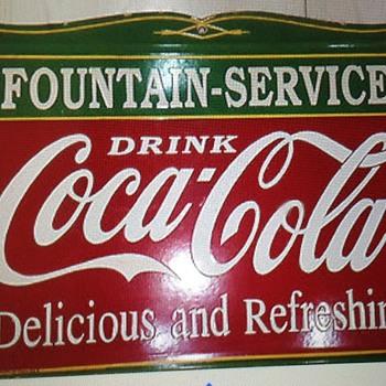 Coke sign? - Coca-Cola
