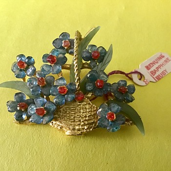 Swoboda flower basket - Fine Jewelry
