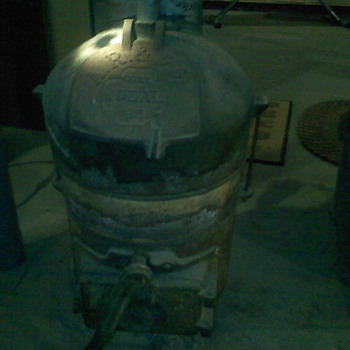 Ideal 65 Coal-fired water heater