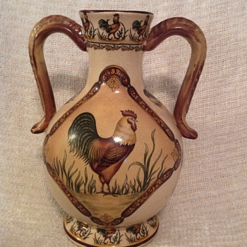 Chicken Vase - Asian
