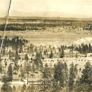 Fort George Wright, near Spokane, WA. 1920s - Military and Wartime