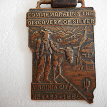 Discovery of Silver 1859 Virginia City, Nevada - Pocket Watches