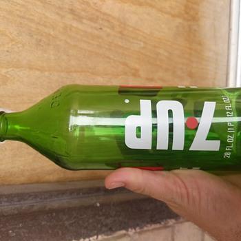Antique or new 7up bottle? - Bottles
