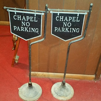 Cast iron chapel signs - Signs