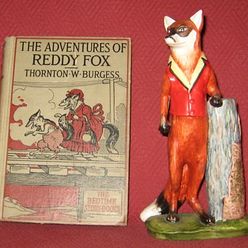 1928  Edition of The Adventures of Reddy Fox By Thornton W. Burgess - Books