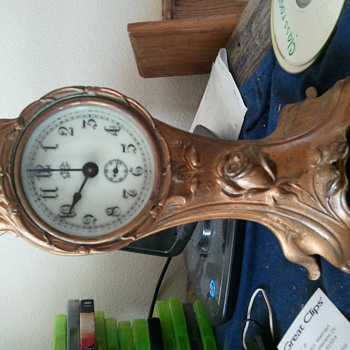 c. 1890's mantle clock.