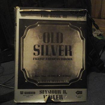 OLD SILVER BOOK . U.S.A.