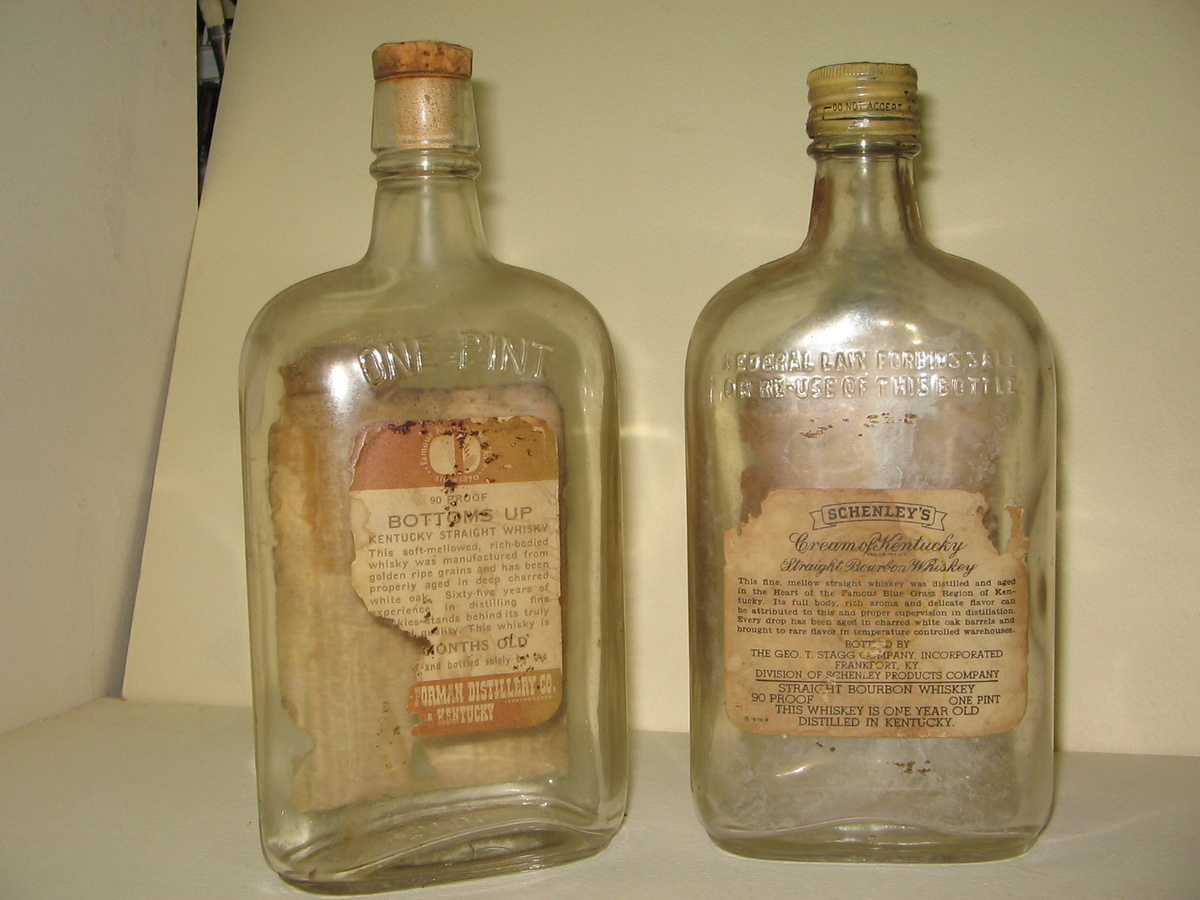Dating old liquor bottles
