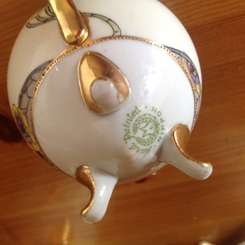 The mark for my Nippon teaset posted previously.