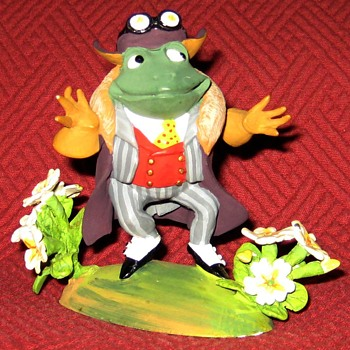 Mr. Toad-From The Wind In The Willows Series (Limited Edition) - Figurines