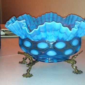 My latest find. . . a little confused though - Art Glass
