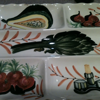 Italian made platter - Pottery