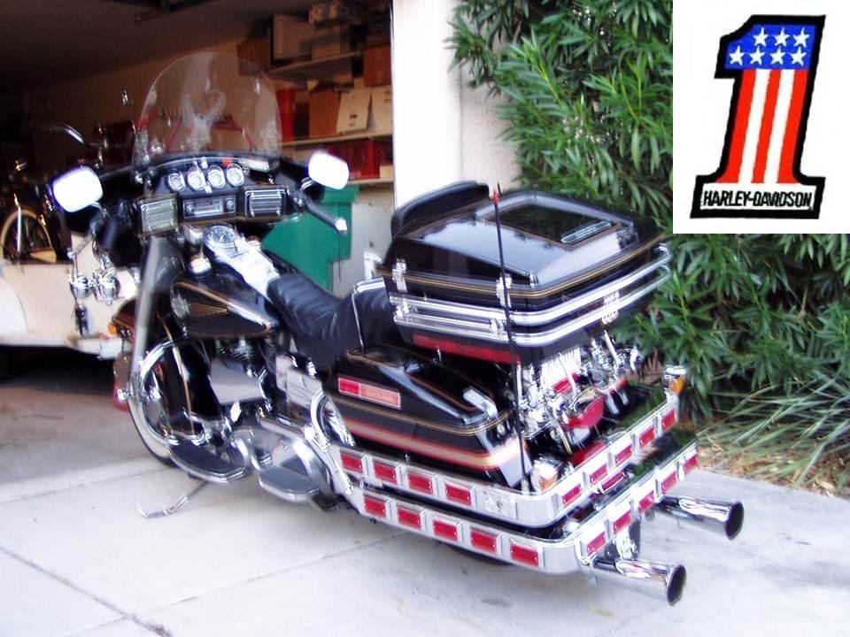 1984 Harley Davidson Electra-glide Special Edition RARE FLHX