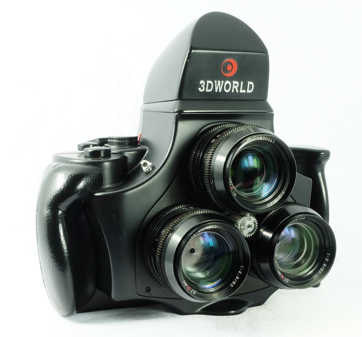 3D World Medium Format Stereo Camera Model TL120-1