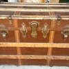 Circa 1910+ Roll top trunk  R.H. Macy & Co