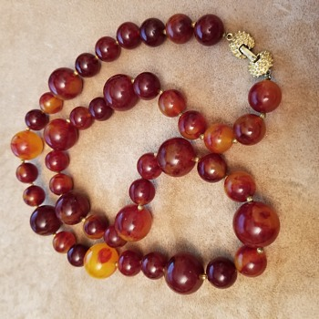My Beautiful Bakelite Necklace - Costume Jewelry