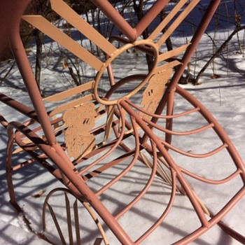 Outsider indian reservation rocker - Furniture