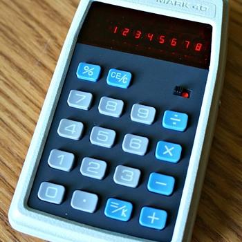 APF Mark 40 Electronic Calculator - Electronics
