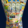 Early 1960s Space Race NASA Decoupage Mannequin