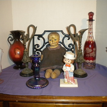 Old Bin Unpacked - Dolls