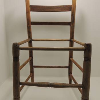 Childs Chair?  Farm House Chair?  Looking for help.  - Furniture