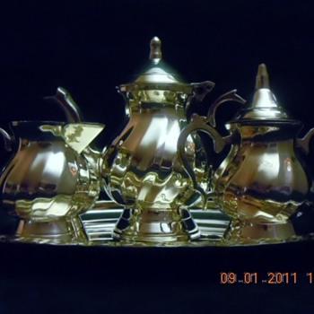 Silver Plated Miniature Tea/Coffee Set - Salesman Sample? - Advertising
