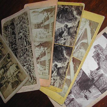 Stereograms (early 1900) - Photographs