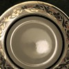 Small Plate with Silver Decoration