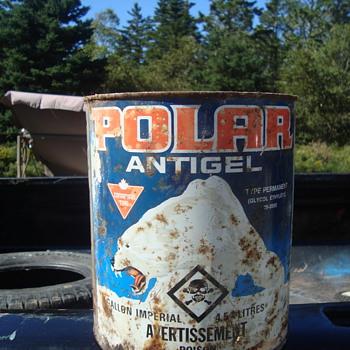 vintage anti freeze can - Petroliana