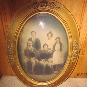 My Great Grandparents, my Grandmother & her twin sister & my uncle - Photographs