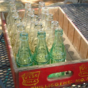 Vintage Missouri Coke Bottles - Coca-Cola