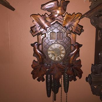 Anton Schneider 1 day music Cuckoo clock - Clocks